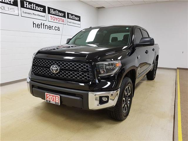 2018 Toyota Tundra SR5 Plus 5.7L V8 (Stk: 185376) in Kitchener - Image 1 of 22