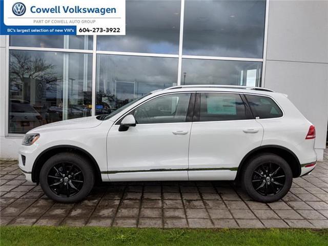 2017 Volkswagen Touareg 3.6L Sportline (Stk: VWKN7868) in Richmond - Image 1 of 4