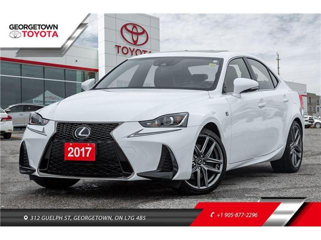 2017 Lexus IS 300 Base (Stk: 17-21652GP) in Georgetown - Image 1 of 21
