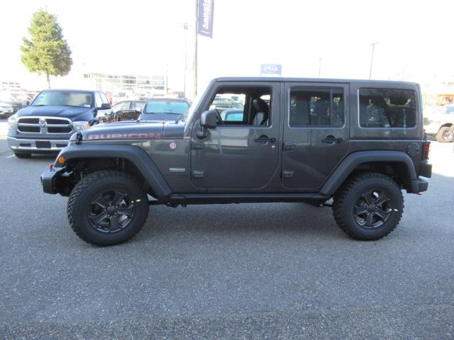 2018 Jeep Wrangler JK Unlimited Rubicon (Stk: J893207) in Surrey - Image 4 of 12