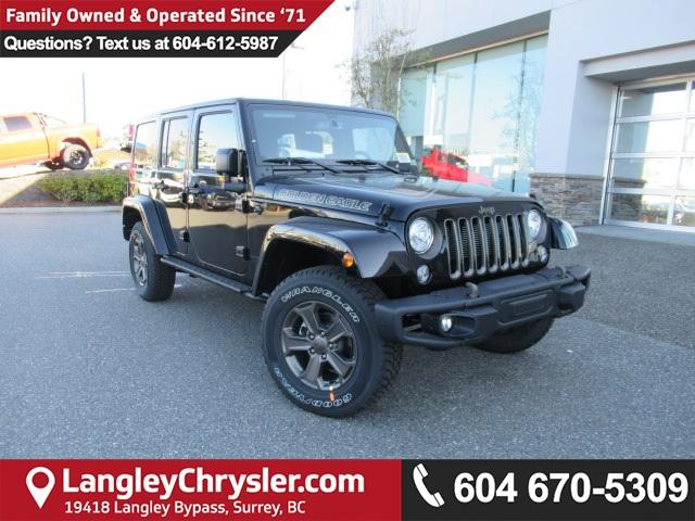 2018 Jeep Wrangler JK Unlimited Sport (Stk: J886180) in Surrey - Image 1 of 12