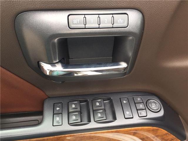 2016 Chevrolet Silverado 1500 High Country (Stk: 3486O) in Thunder Bay - Image 10 of 18