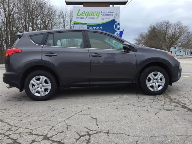 2015 Toyota RAV4 LE (Stk: P8026) in Kincardine - Image 2 of 13
