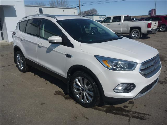 2017 Ford Escape Titanium (Stk: 7245) in Wilkie - Image 1 of 22