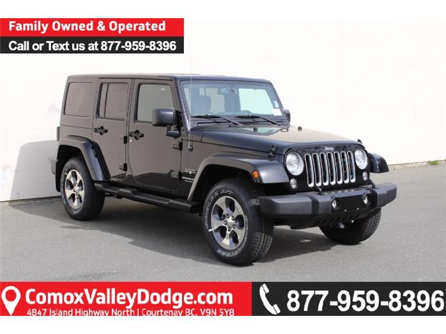 2018 Jeep Wrangler JK Unlimited Sahara (Stk: L863691) in Courtenay - Image 1 of 30