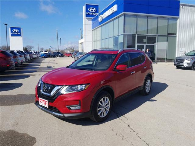 2017 Nissan Rogue SV (Stk: 85018) in Goderich - Image 1 of 15