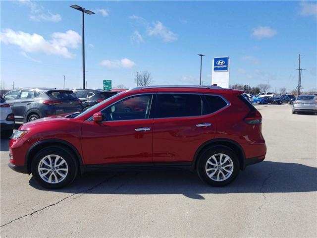 2017 Nissan Rogue SV (Stk: 85018) in Goderich - Image 2 of 15