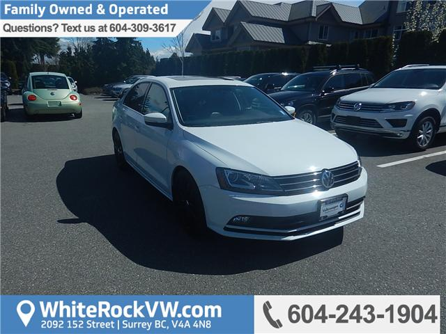 2015 Volkswagen Jetta 2.0 TDI Highline (Stk: VW0667) in Surrey - Image 1 of 26