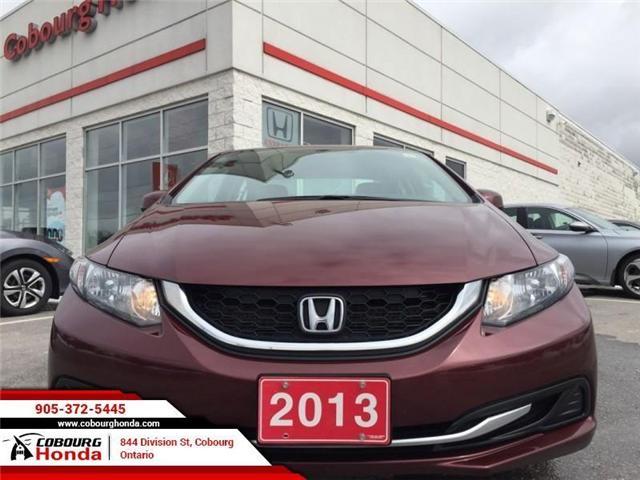 2013 Honda Civic LX (Stk: U1649A) in Cobourg - Image 2 of 18
