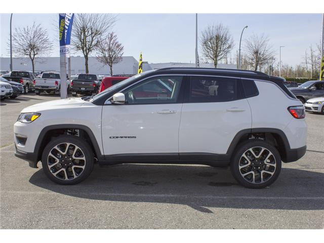 2018 Jeep Compass Limited (Stk: J299256) in Abbotsford - Image 4 of 26