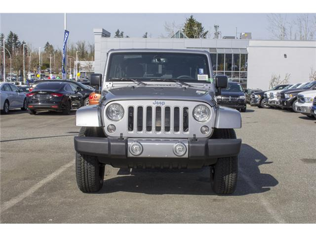 2018 Jeep Wrangler JK Unlimited Sahara (Stk: J863953) in Abbotsford - Image 2 of 25