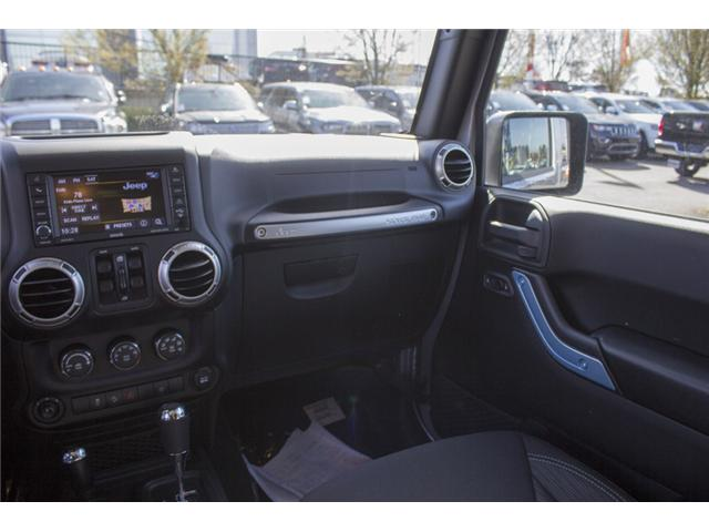 2018 Jeep Wrangler JK Unlimited Sahara (Stk: J863953) in Abbotsford - Image 14 of 25