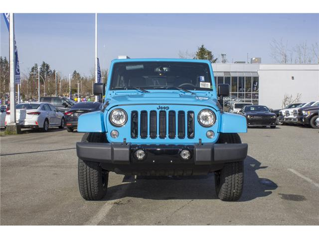 2018 Jeep Wrangler JK Unlimited Sahara (Stk: J801585) in Abbotsford - Image 2 of 23