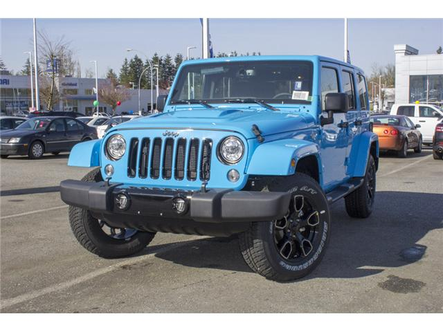 2018 Jeep Wrangler JK Unlimited Sahara (Stk: J801585) in Abbotsford - Image 3 of 23