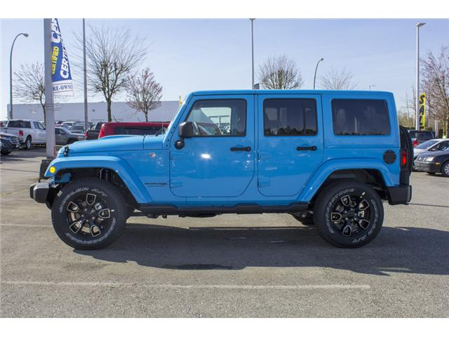 2018 Jeep Wrangler JK Unlimited Sahara (Stk: J801585) in Abbotsford - Image 4 of 23