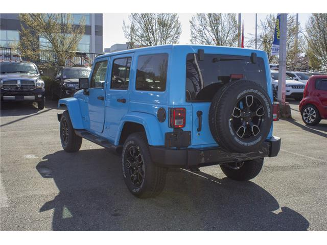 2018 Jeep Wrangler JK Unlimited Sahara (Stk: J801585) in Abbotsford - Image 5 of 23