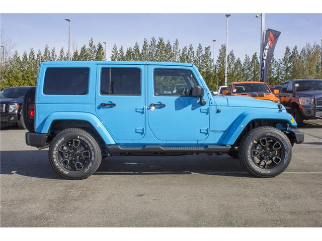 2018 Jeep Wrangler JK Unlimited Sahara (Stk: J801585) in Abbotsford - Image 8 of 23