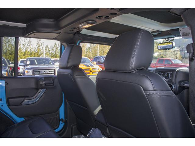 2018 Jeep Wrangler JK Unlimited Sahara (Stk: J801585) in Abbotsford - Image 15 of 23
