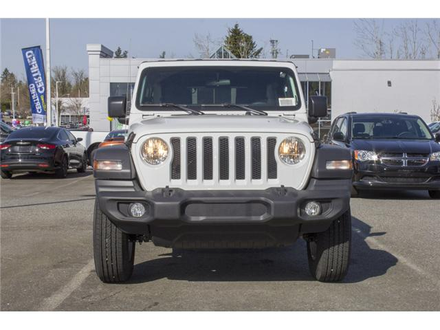 2018 Jeep Wrangler Unlimited Sport (Stk: J153699) in Abbotsford - Image 2 of 26