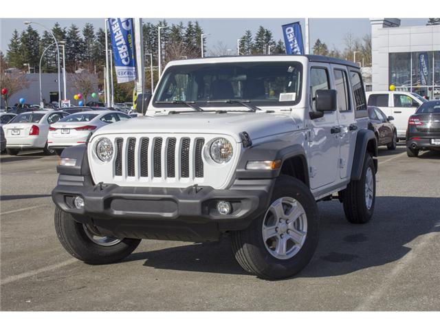 2018 Jeep Wrangler Unlimited Sport (Stk: J153699) in Abbotsford - Image 3 of 26
