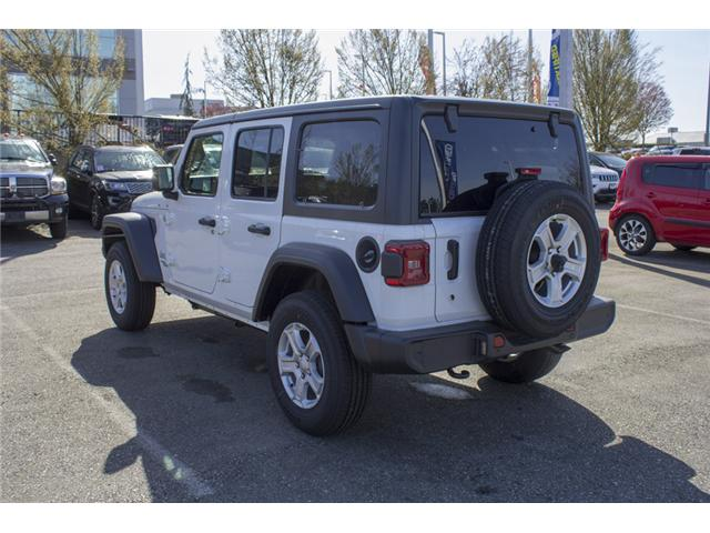 2018 Jeep Wrangler Unlimited Sport (Stk: J153699) in Abbotsford - Image 5 of 26