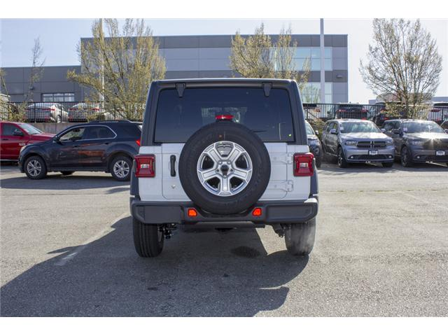 2018 Jeep Wrangler Unlimited Sport (Stk: J153699) in Abbotsford - Image 6 of 26