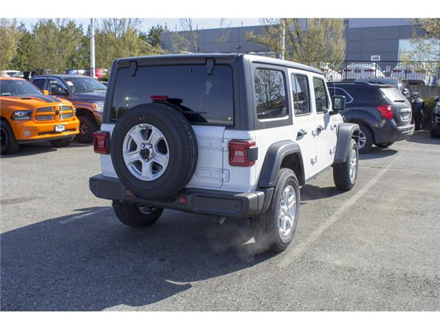 2018 Jeep Wrangler Unlimited Sport (Stk: J153699) in Abbotsford - Image 7 of 26