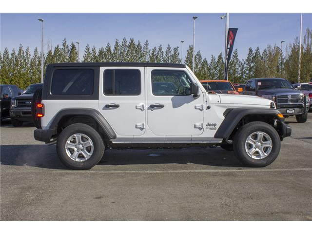 2018 Jeep Wrangler Unlimited Sport (Stk: J153699) in Abbotsford - Image 8 of 26