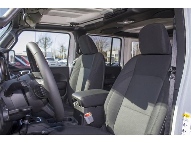 2018 Jeep Wrangler Unlimited Sport (Stk: J153699) in Abbotsford - Image 12 of 26