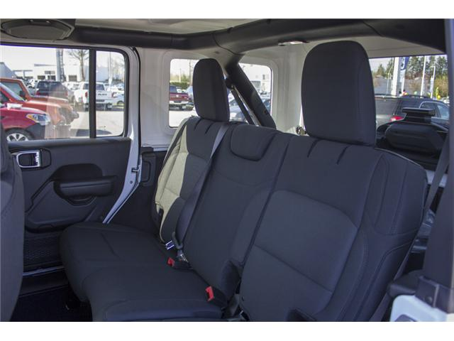 2018 Jeep Wrangler Unlimited Sport (Stk: J153699) in Abbotsford - Image 14 of 26