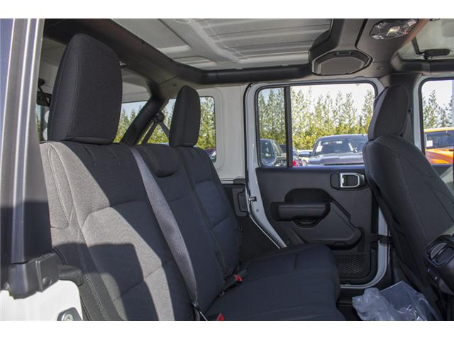 2018 Jeep Wrangler Unlimited Sport (Stk: J153699) in Abbotsford - Image 17 of 26