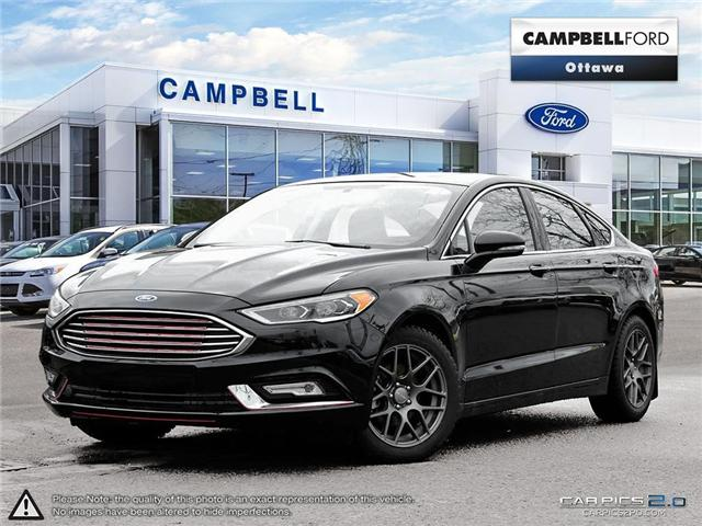 2017 Ford Fusion SE AWD-LEATHER-POWER ROOF---NAV-GREAT BUY (Stk: 1812352) in Ottawa - Image 1 of 30