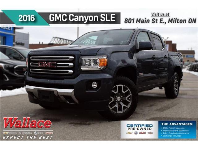 2016 GMC Canyon SLE (Stk: pl5107) in Milton - Image 1 of 4