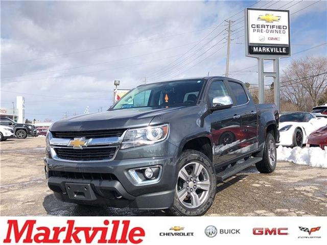 2017 Chevrolet Colorado LT- GM CERTIFIED PRE-OWNED- 1 OWNER TRADE (Stk: 307394A) in Markham - Image 1 of 22