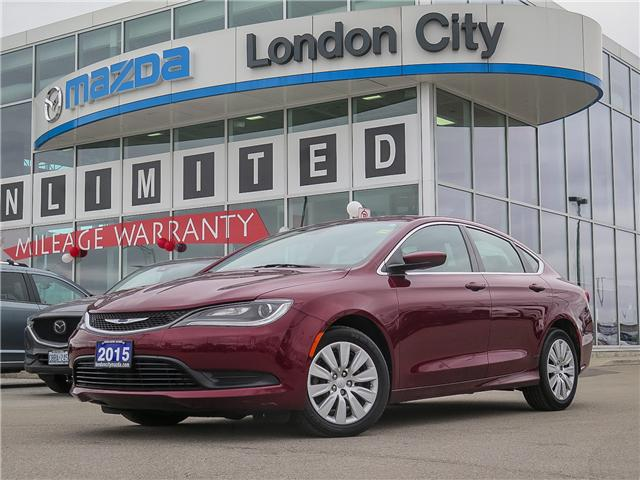 2015 Chrysler 200 LX (Stk: 8301A) in London - Image 1 of 23