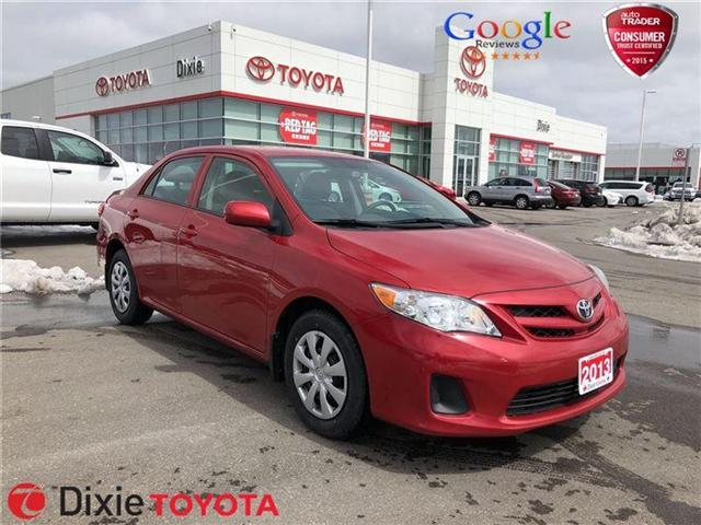 2013 Toyota Corolla  (Stk: 72135) in Mississauga - Image 1 of 9