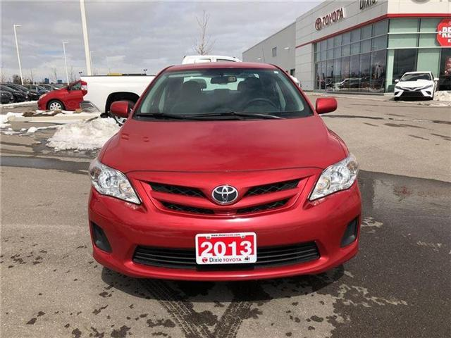 2013 Toyota Corolla  (Stk: 72135) in Mississauga - Image 2 of 9