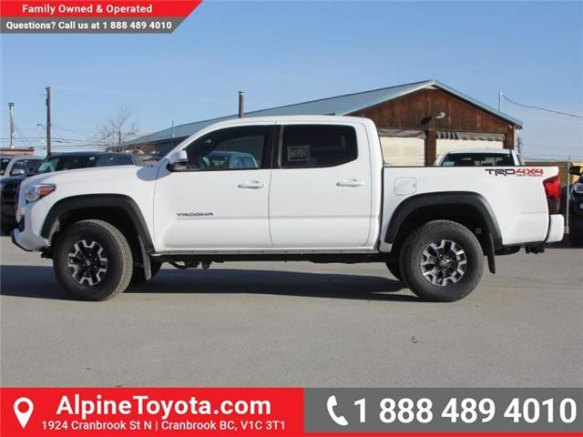 2018 Toyota Tacoma TRD Off Road (Stk: X124987) in Cranbrook - Image 2 of 17