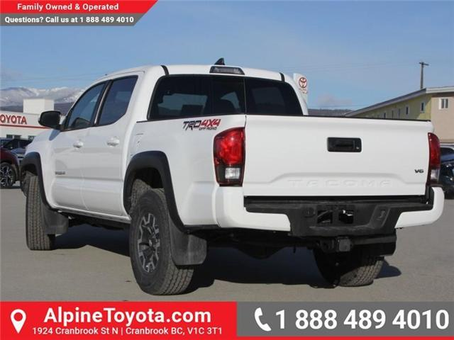 2018 Toyota Tacoma TRD Off Road (Stk: X124987) in Cranbrook - Image 3 of 17