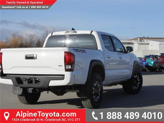 2018 Toyota Tacoma TRD Off Road (Stk: X124987) in Cranbrook - Image 5 of 17