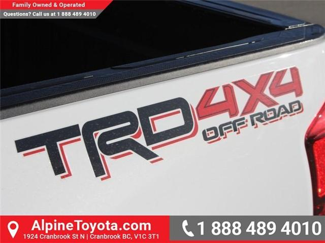 2018 Toyota Tacoma TRD Off Road (Stk: X124987) in Cranbrook - Image 15 of 17