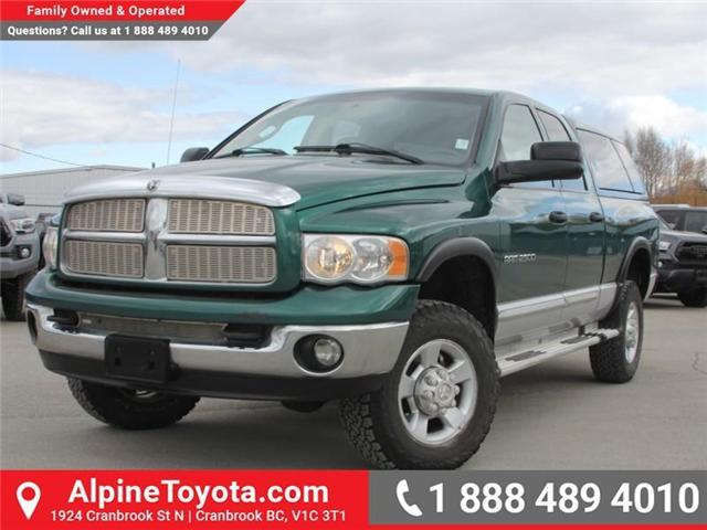 2003 Dodge Ram 2500 Laramie (Stk: X031570A) in Cranbrook - Image 1 of 18