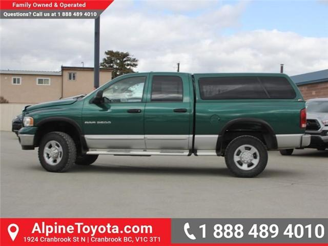 2003 Dodge Ram 2500 Laramie (Stk: X031570A) in Cranbrook - Image 2 of 18