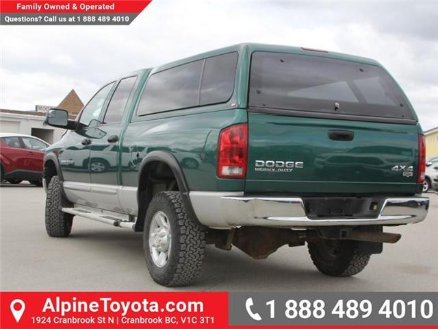 2003 Dodge Ram 2500 Laramie (Stk: X031570A) in Cranbrook - Image 3 of 18