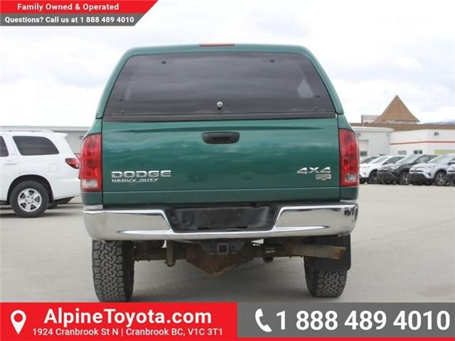 2003 Dodge Ram 2500 Laramie (Stk: X031570A) in Cranbrook - Image 4 of 18