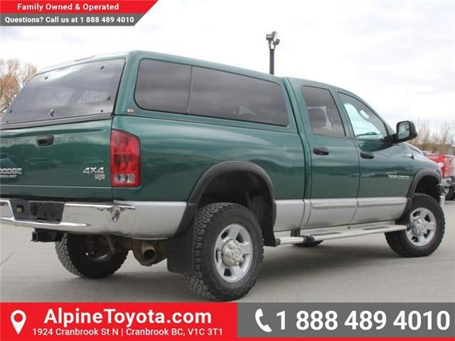 2003 Dodge Ram 2500 Laramie (Stk: X031570A) in Cranbrook - Image 5 of 18