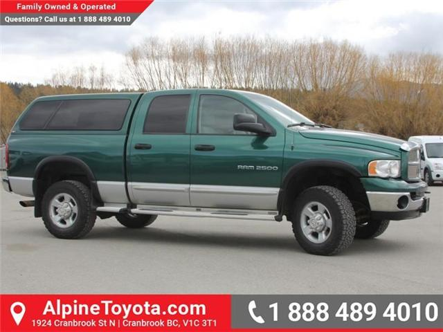 2003 Dodge Ram 2500 Laramie (Stk: X031570A) in Cranbrook - Image 6 of 18