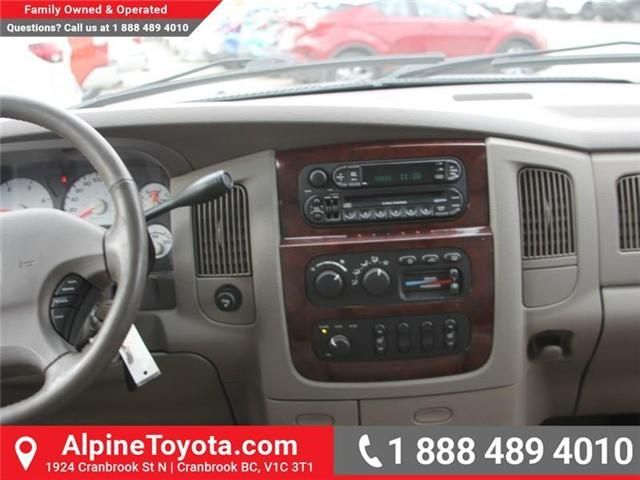 2003 Dodge Ram 2500 Laramie (Stk: X031570A) in Cranbrook - Image 10 of 18