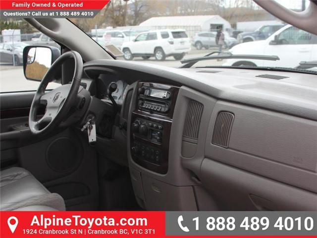 2003 Dodge Ram 2500 Laramie (Stk: X031570A) in Cranbrook - Image 11 of 18