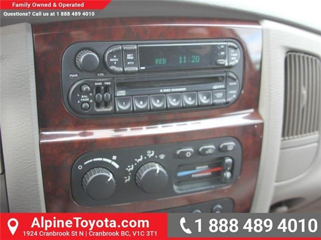 2003 Dodge Ram 2500 Laramie (Stk: X031570A) in Cranbrook - Image 13 of 18